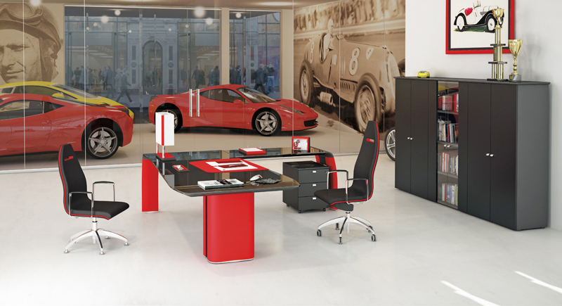 Bureau de luxe pour dirigeant exigeant mobilier de bureau vers