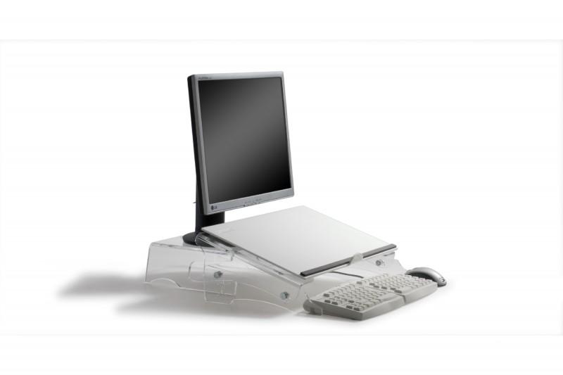 Support document papier pour ordinateur mobilier de for Papier peint pour ordinateur